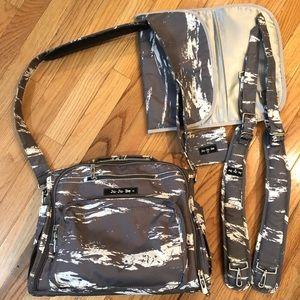 Ju Ju Be B.F.F convertible Diaper Bag